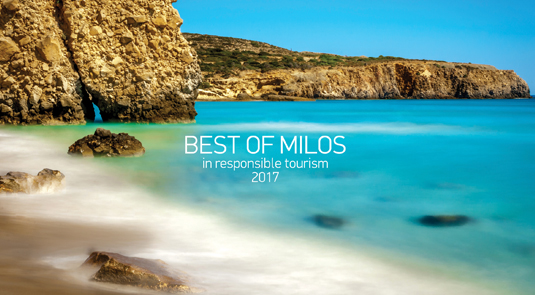 Best of Milos in Responsible Tourism 2017